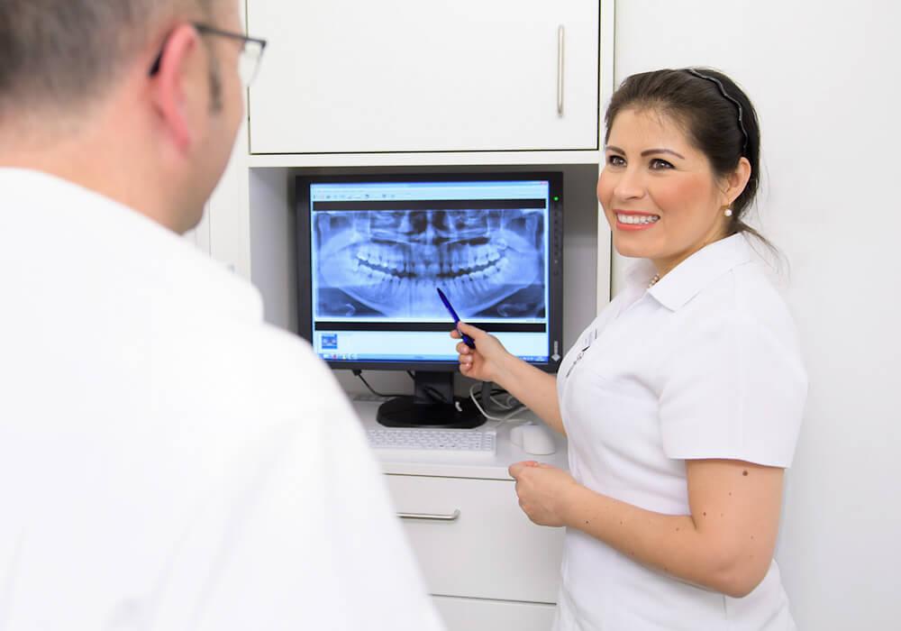 Röntengezimmer der Zahnarztpraxis Klauser